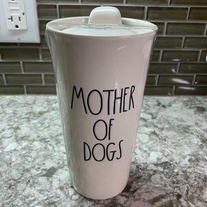 Rae Dunn Mother of Dogs travel mug